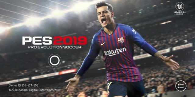 PES 2019 Mobile Game