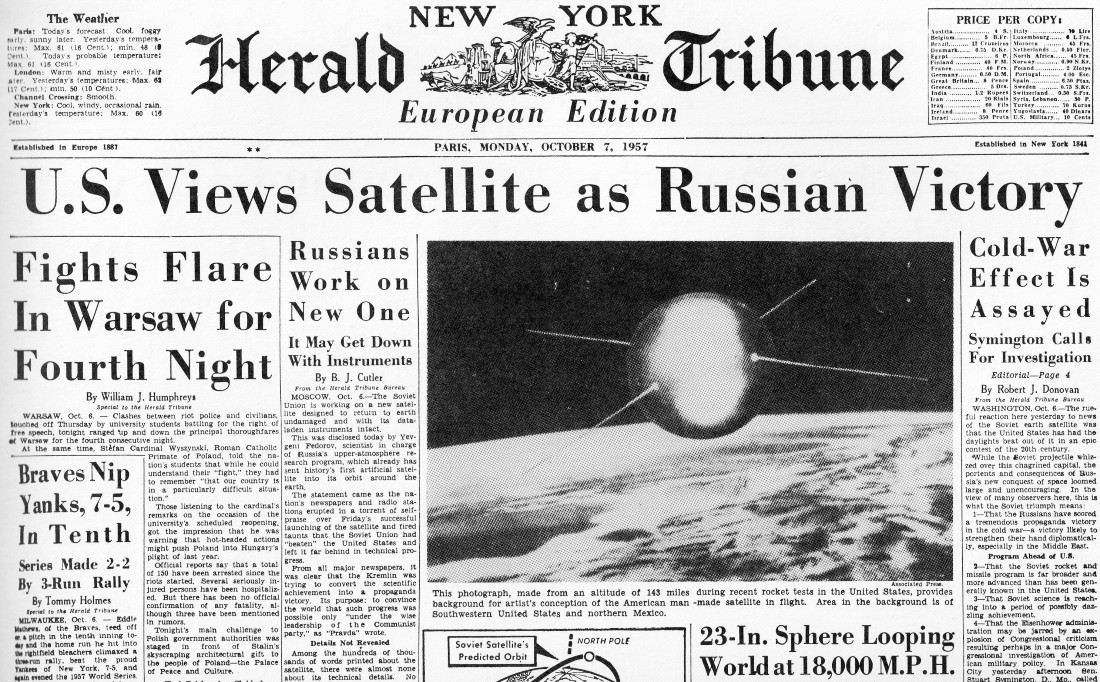 first artificial satellite