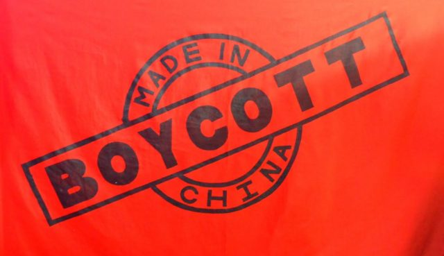 Boycott china - Thinking tech