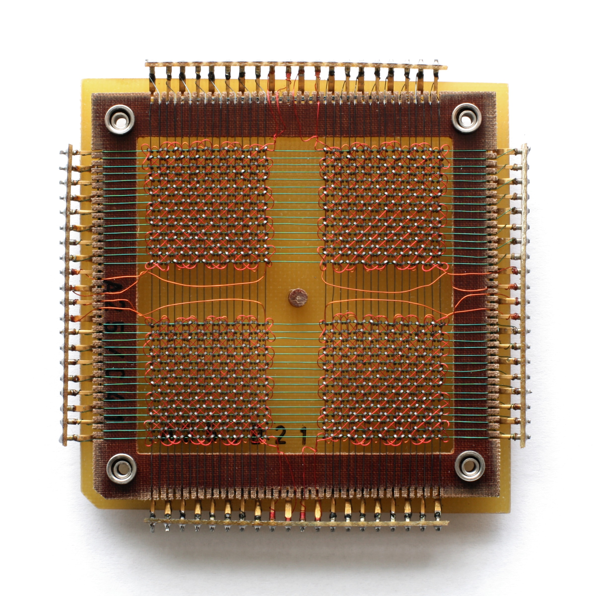 Magnetic Ferrite Core Memory - Tech History Today