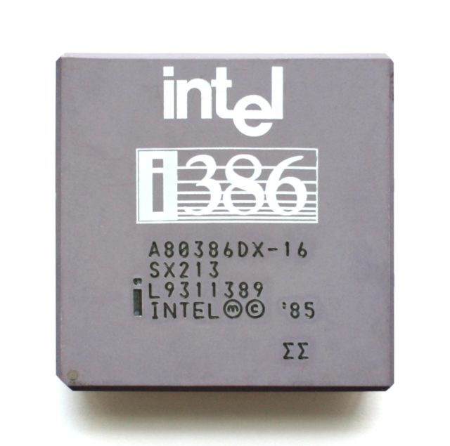 intel i386 - Tech History Today