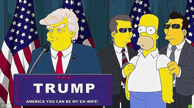 Trump Simpsons-thinking tech