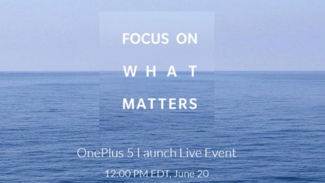 OnePlus 5 to be launched In India