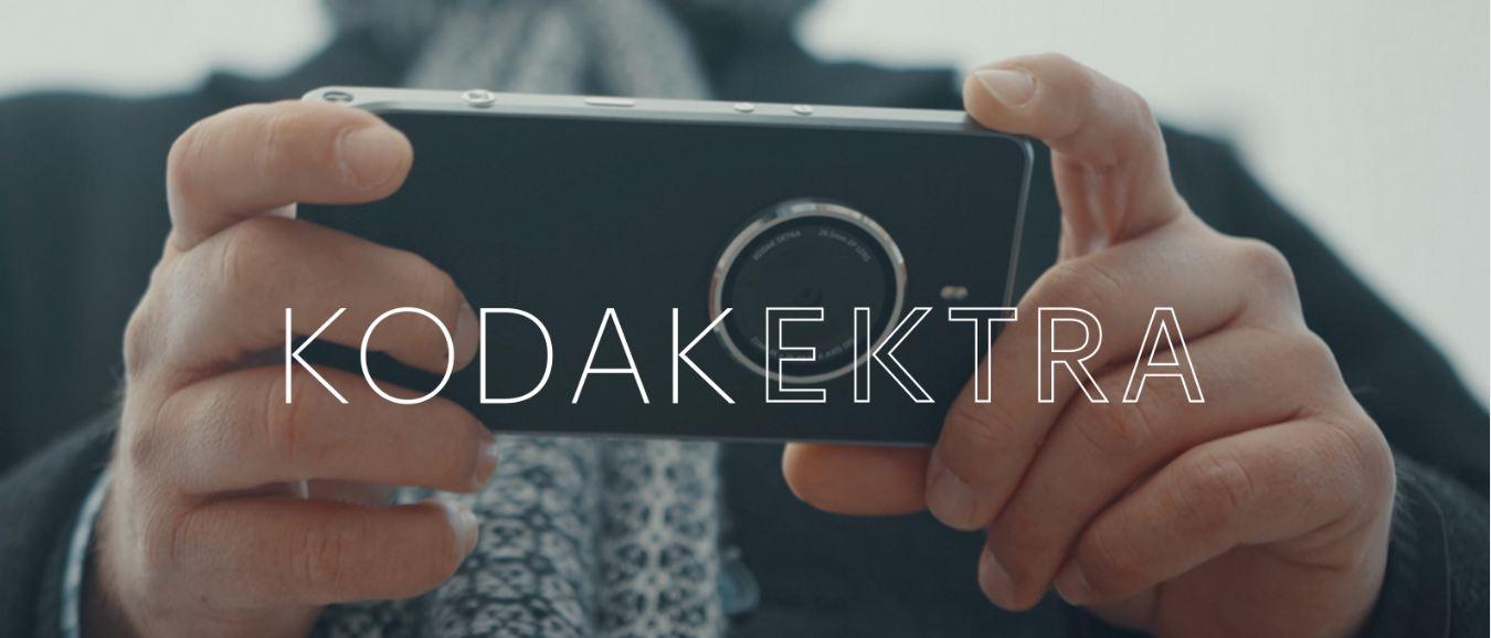 Kodak Ektra camera smartphone