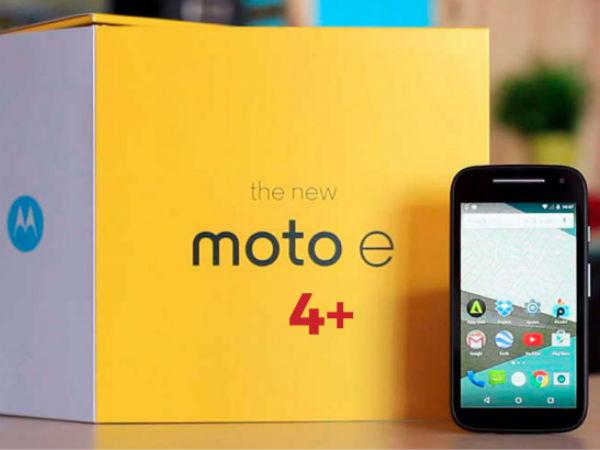 Moto E4 & Moto E4 Plus