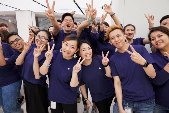 An Apple Store in Taiwan