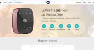 JioFi 224GB 4G Data