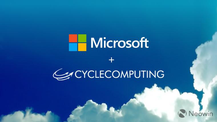 microsoft acquires cycle computing