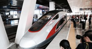 China Relaunches Worlds Fastest Train