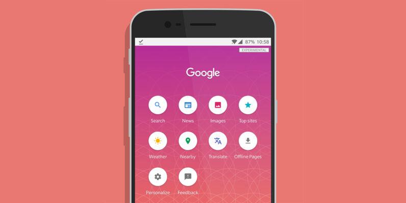 Google is testing a Search Lite app
