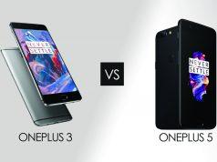 Oneplus 5 vs Oneplus 3