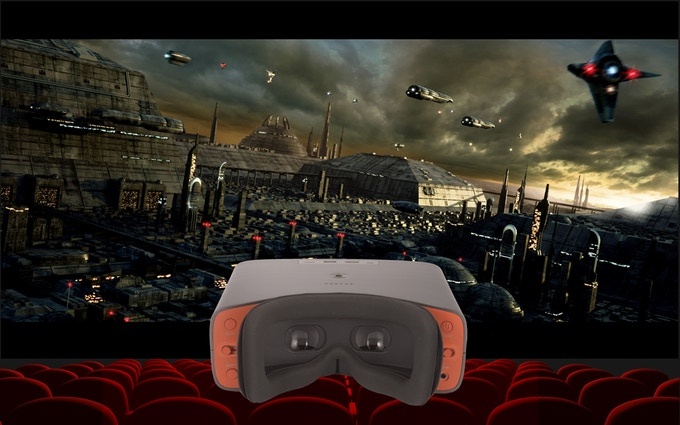 VR With The big screen