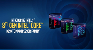8-Generation Coffee Lake Desktop Processors