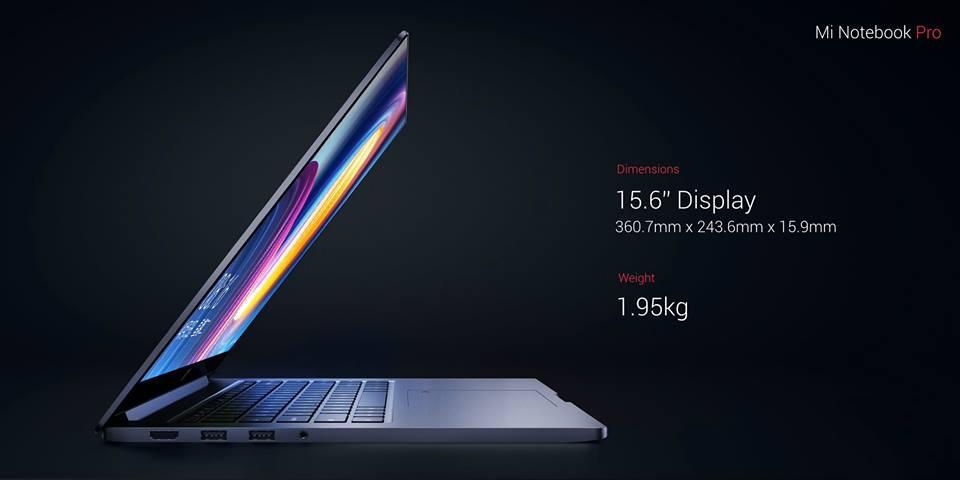 Latest Xiaomi Mi Notebook Pro