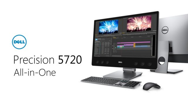 Dell Launches VR Ready Precision 5720