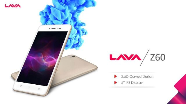 Lava Z60 Specifications