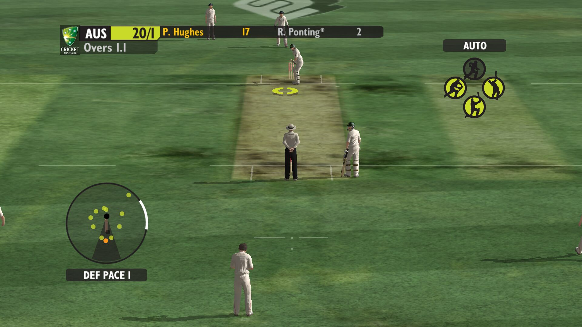 Ashes Cricket Game