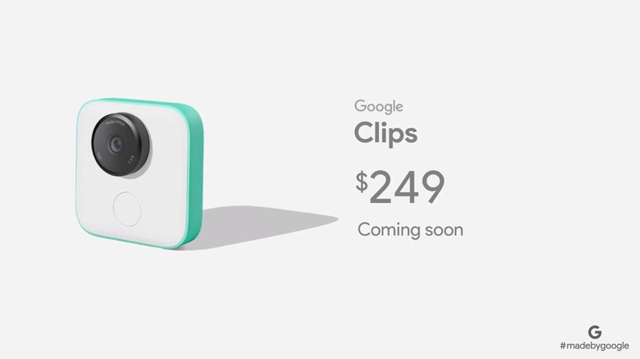 Google Clips AI-Powered Camera