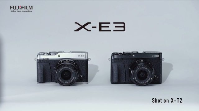 Fujifilm X-E3 Mirrorless Camera