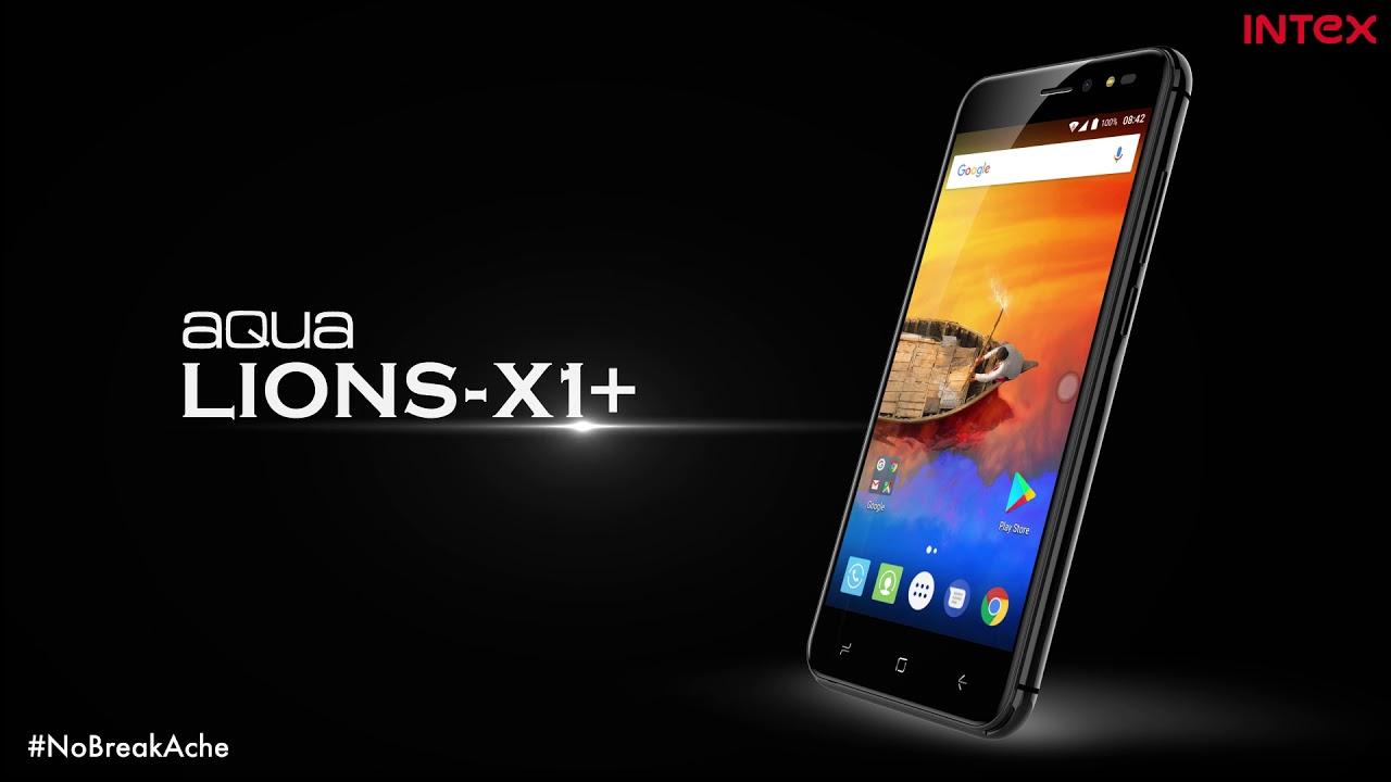 Intex Aqua Lions X1+