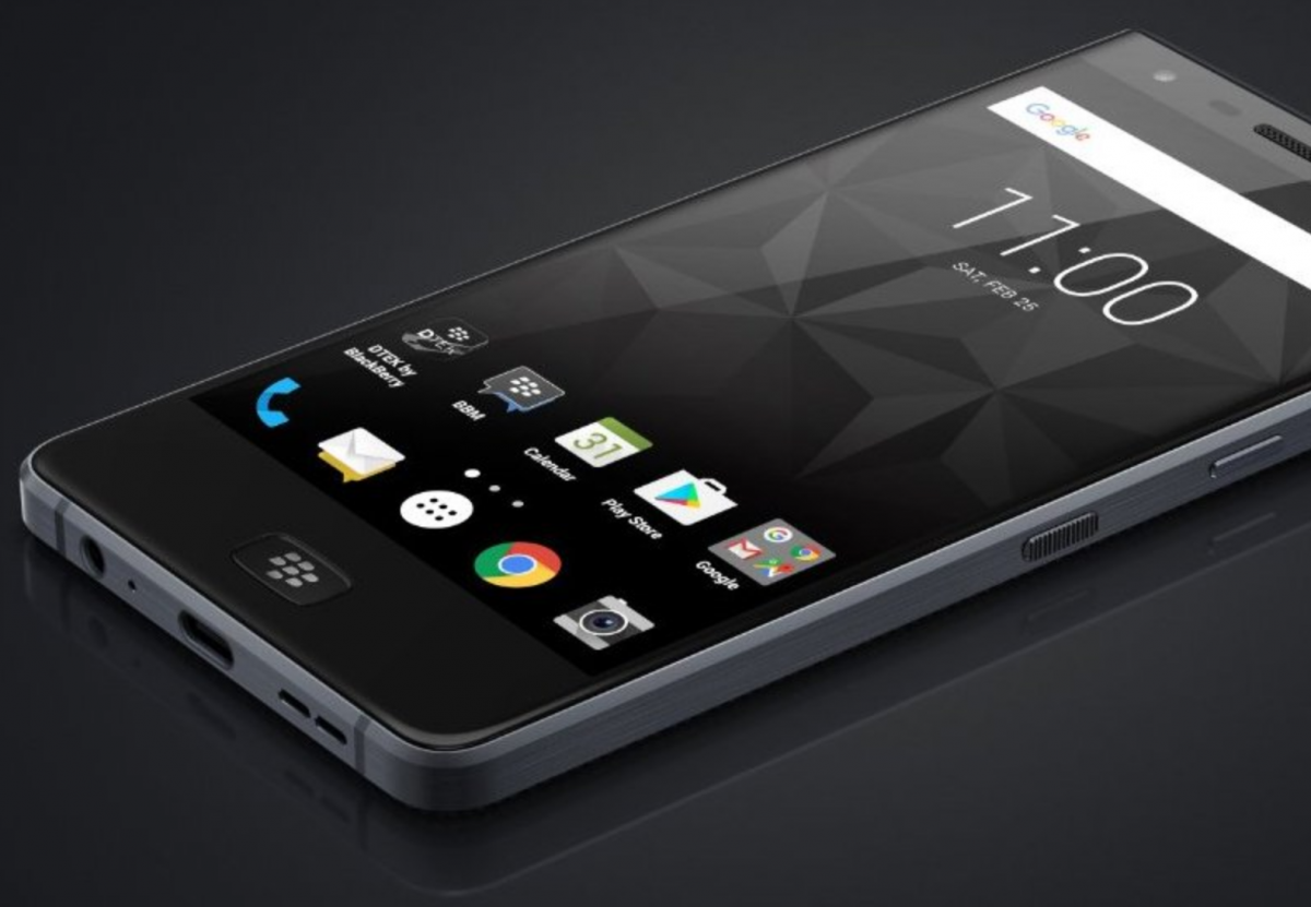 Latest Blackberry Motion Smartphone Comes With 4k Mah Battery