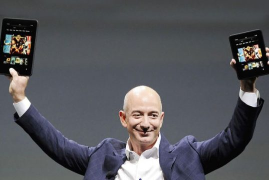 Amazon Founder Jeff Bezos Reaches 100 Billion Dollars Net Worth