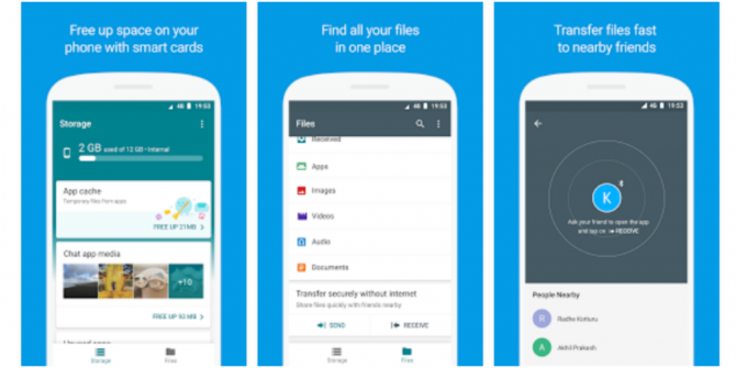 Google Files Go App