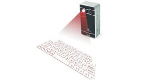Laser Projection Keyboard