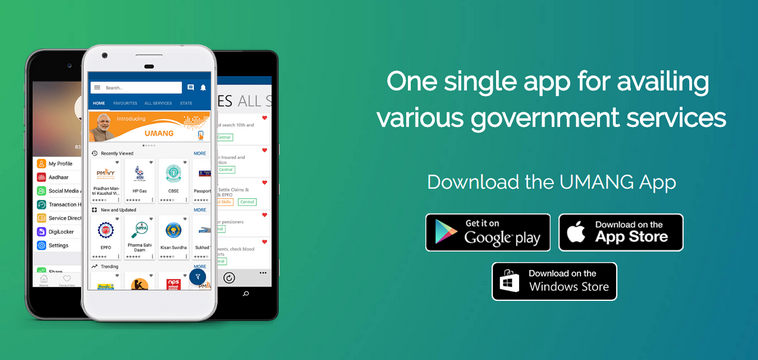 UMANG App For Government Services