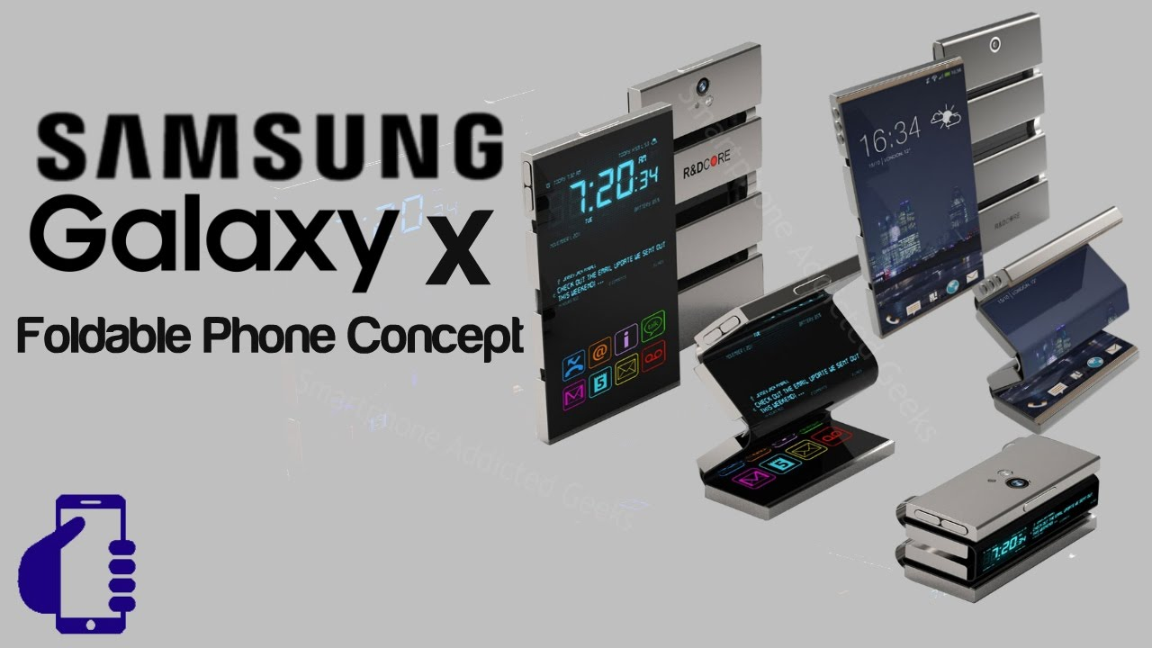 Samsung Galaxy X Foldable Smartphone Could Launch Soon