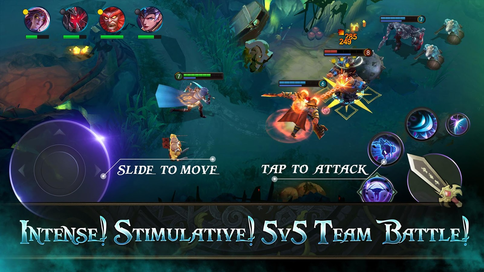 Battle for Glory MOBA