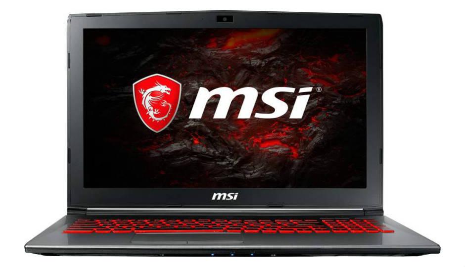 MSI GV62 Series Gaming Laptops