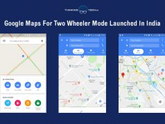Google Maps For Two Wheeler