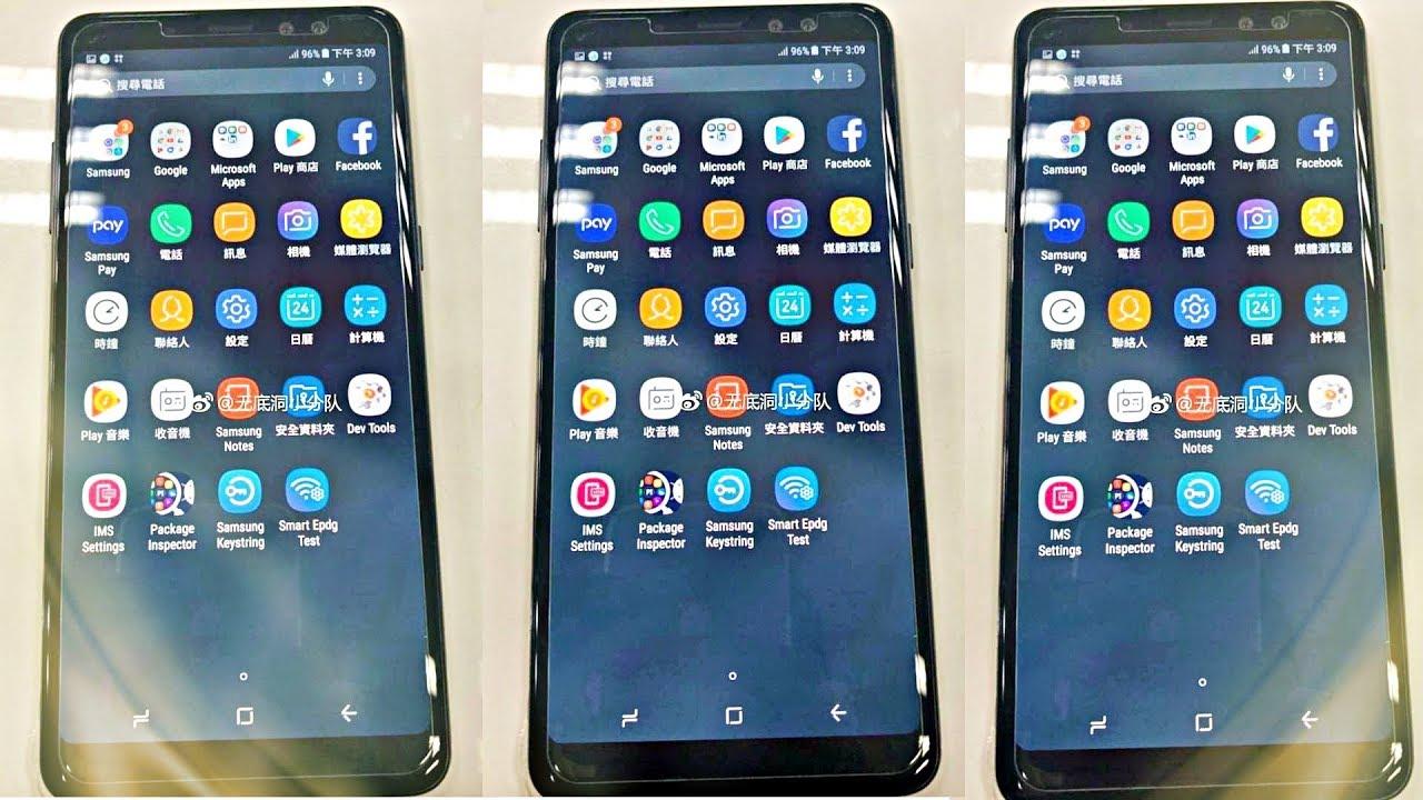 2018 Samsung Galaxy A8 Plus