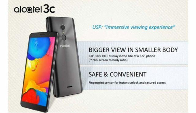 Alcatel 3C Smartphone