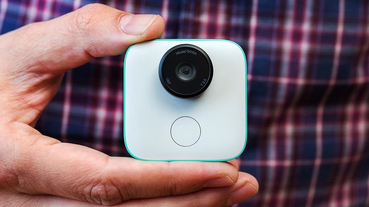 Google Clips AI Camera