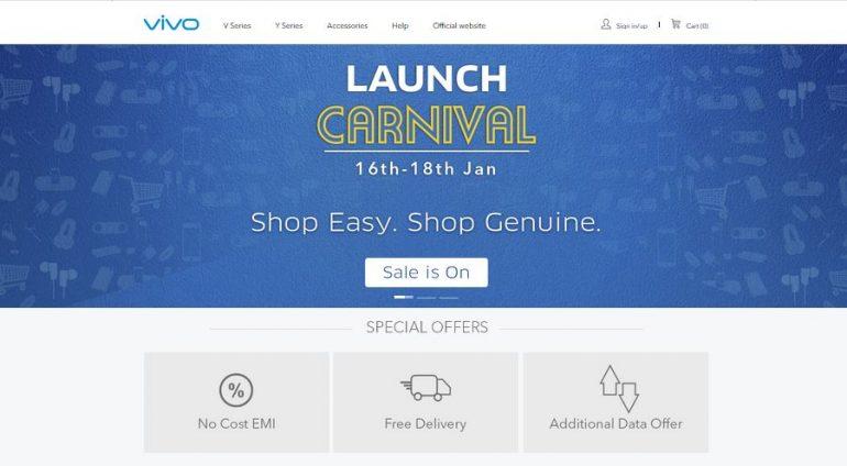 Vivo New Online Store