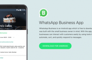 WhatsApp Businesses App