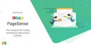 Zoho PageSense