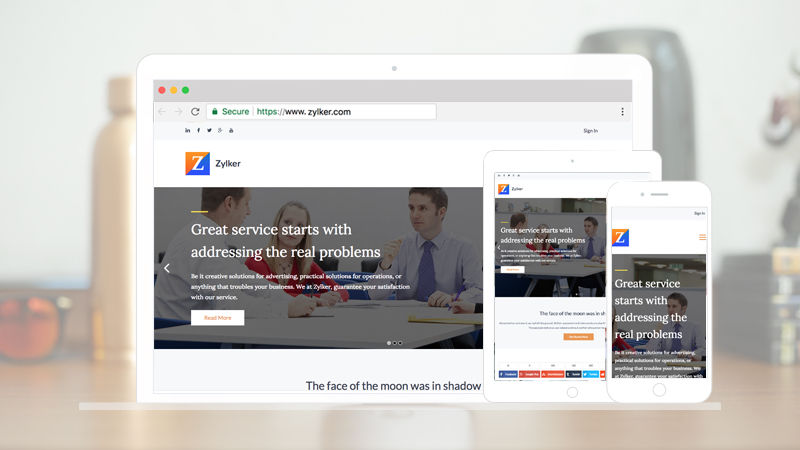 Zoho Launches Website Optimisation App Zoho PageSense