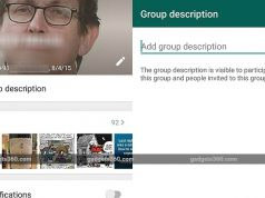 Group Description Feature