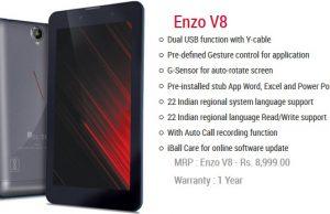 iBall Slide Enzo V8