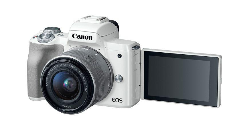 Canon EOS M50 Microless Camera Has 24.1-Megapixel Sensor