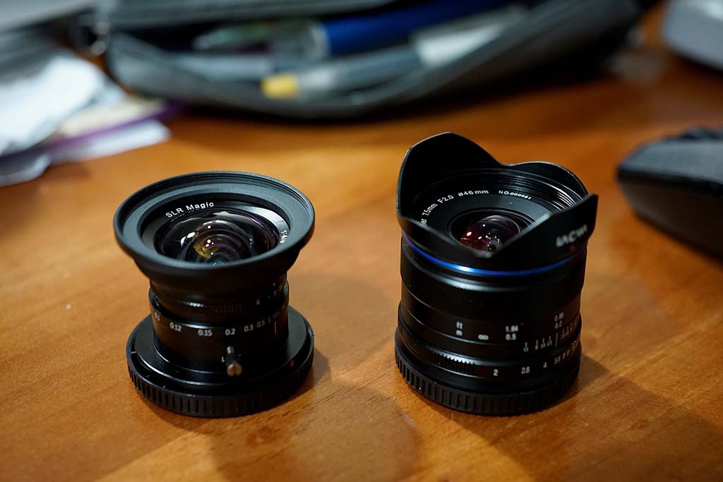 Laowa 9mm Lens With F 2 8 Zero D Mirrorless Cameras