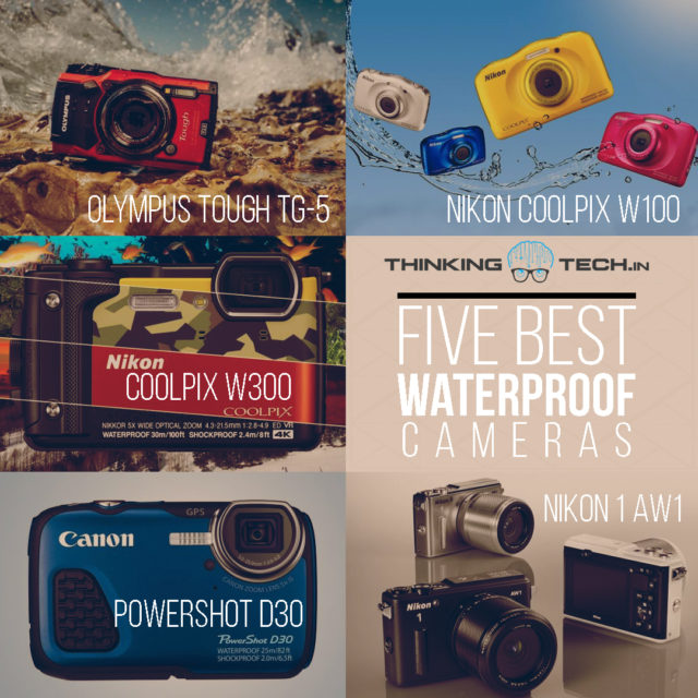 Top 5 Waterproof Cameras
