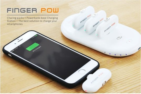 Finger Pow Charger