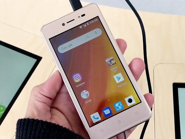 Lava Z91 Android Go Smartphone