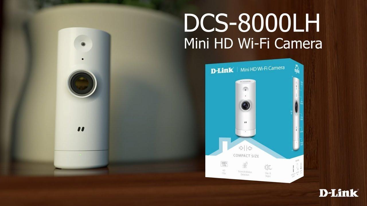 D-Link Mini HD Wi-Fi Home Camera