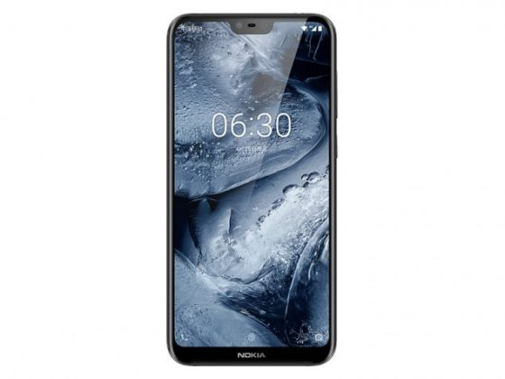 Nokia X6 dislay