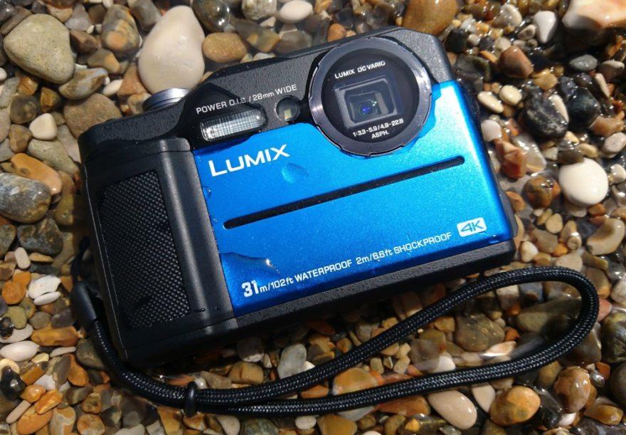 Panasonic Lumix FT7 Rugged Camera - 3-inch LCD screen